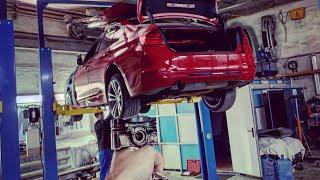 Вскрыли ДВИГАТЕЛЬ на BMW F30! А ТАМ????!!!!!!