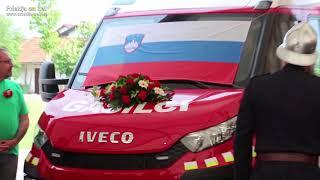 Prevzem novega gasilskega vozila GVV-1 PGD Lukavci