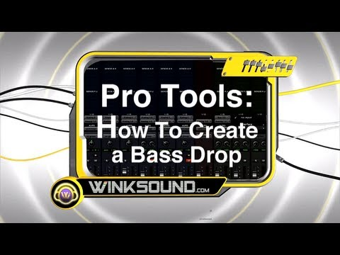 Pro Tools: How To Create a Bass Drop | WinkSound