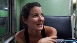 preview picture of video 'Tren Nocturno Tailandia'