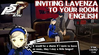 Inviting Lavenza to your room ENGLISH - Persona 5 Royal