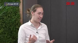 Мария Колотий и Елена Герасимова: диалог об онлайн и офлайн образовании на «Острове 10-22»