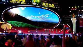 18 летие Тяньши Церемония поднятия государственного флага Китая