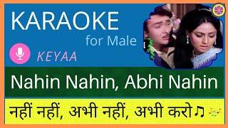 Nahi Nahi Abhi Nahi | Karaoke for Male | Female   - YouTube