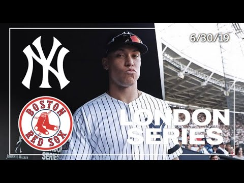 New York Yankees Vs. Boston Red Sox | Game Highlights | London Series Game 2