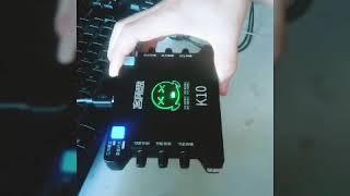 Hướng Dẫn Lắp đặt Combo Livestream Bm900 Với Sound Card K10