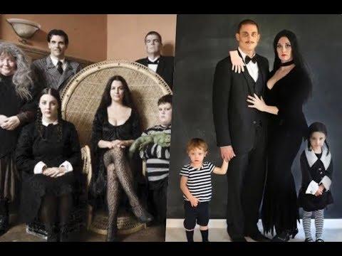 Disfraces de la familia Addams