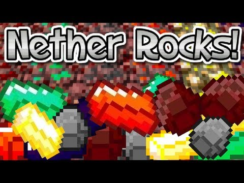 NETHER ROCKS MOD! NEW NETHER ORES!