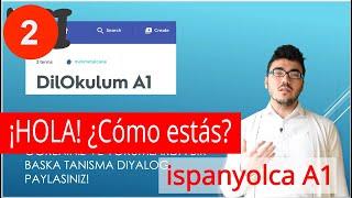 İSPANYOLCA Ders 2 - SELAMLAŞMA ve TANIŞMA - A1
