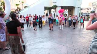 Brooke & Ryan's Proposal Flash Mob 8313 Las Vegas