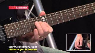 Learn To Play Chickenfoot DVD Guitar Lessons With Danny Gill Licklibrary
