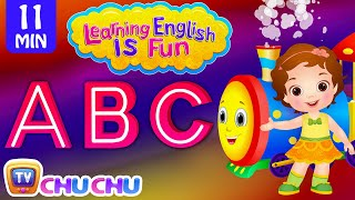 Learning English Is Fun™ | ABC Songs | ChuChu TV Phonics & Words Learning For Preschool Children
