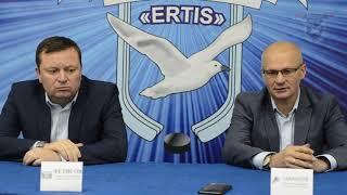 Пресс-конференция после матчей «ERTIS» - «Темиртау»