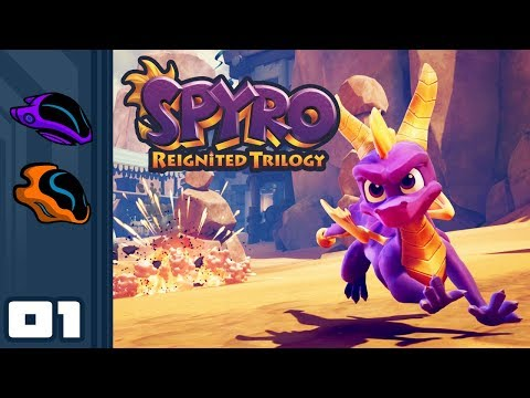 Let's Play Spyro: Reignited Trilogy - PS4 Gameplay Part 1 - Nostalgia For You, New Game For Me!