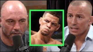 Joe Rogan   GSP On Nate Diaz Fight Rumors