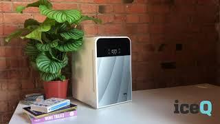 Холодильник автомобильный HYUNDAI с двойной системой охлаждения регулятор температуры 12V/220V от компании Alexel - видео