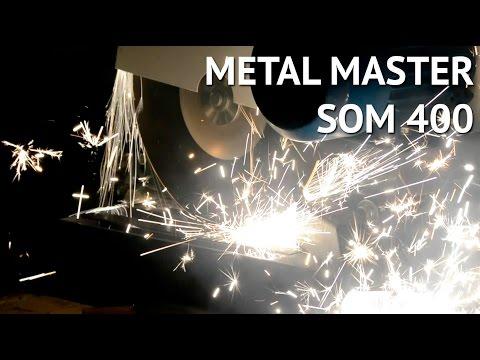 Абразивно отрезной станок по металлу Metal Master SOM 400