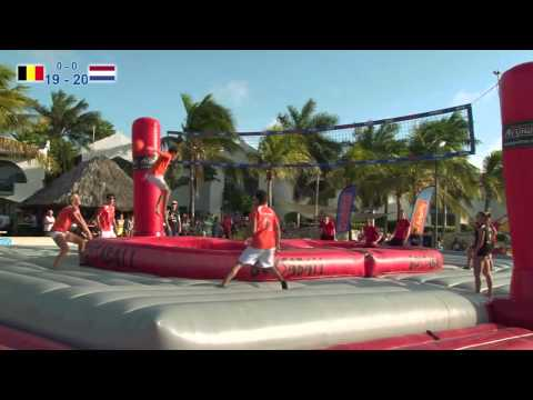 World Cup Bossaball Bonaire 2013