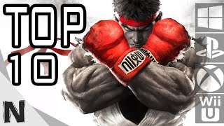 Top 10 Best Fighting Games of 2016 for PS4, Xbox One, PC, Wii U and PS Vita