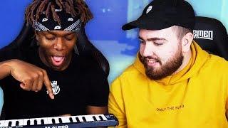 Teaching KSI How to Make a Beat