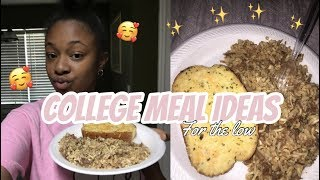 Cook With Me | College Meal Ideas ✨ Super Easy