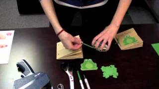 How To Video: Paper Bag Book