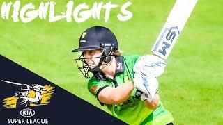 Heather Knight and Deepti Sharma Fire Storm To Title! | FINAL | Kia Super League 2019 - HIGHLIGHTS
