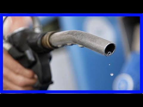 Das Benzin in der Schale dass es