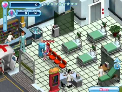 Hysteria Hospital Emergency Ward - GAME PC - freegamezcity.flv