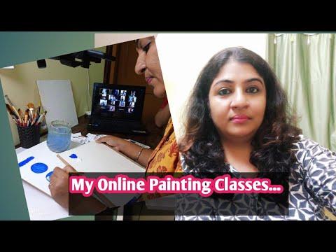My Online Art Classes ...Short intro || ArtistaPooja Online Painting Classes