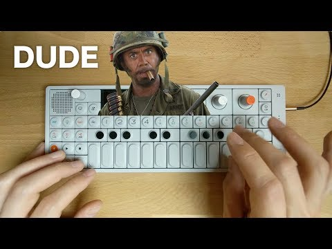 "OP-1 Sampling Tropic Thunder ""I'm a Dude"""