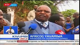 AFRICOG yavamiwa na maafisa wa KRA huku lengo la uvamizi kutojulikana