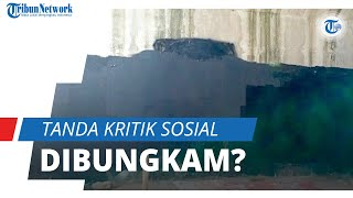 Lokasi Mural Viral Bergambar 'Jokowi: 404 Not Found' Kini Sudah Dihapus, Kritik Sosial Dibungkam?