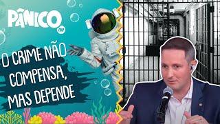Capitão Derrite explica proposta pelo fim das saídas temporárias dos presos