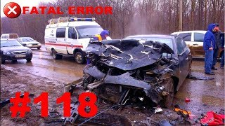 🚘🇷🇺[ONLY NEW] Russian Car Crash Road Accidents Compilation (13 March 2018) #118