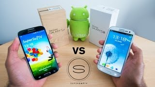 Samsung Galaxy S4 vs Samsung Galaxy S3 - Hands-On