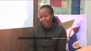 Solai's national hero Mary Waruguru, a clinic administrator, who helped save over 30 lives