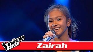 Zairah Synger: Hozier   'Take Me To Church' Voice Junior  Blinds