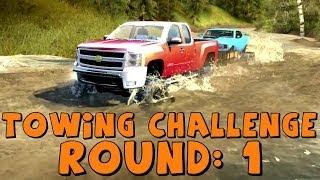 Spin Tires   Trailer Towing Challenge: Round 1   Chevy Silverado 2500HD Duramax