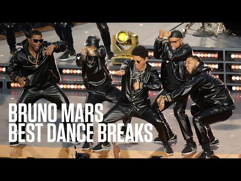 Bruno Mars' Best Dance Breaks Mp3