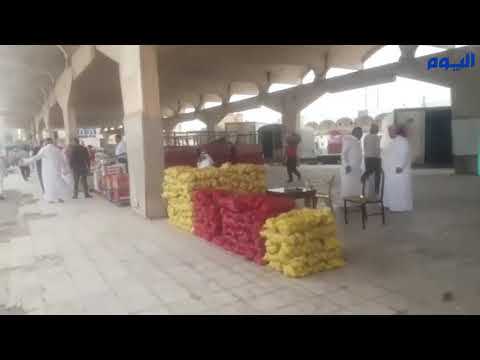 افتتاح السوق المؤقتة للخضار والفواكه والورقيات بالخبر