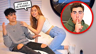 My Girlfriend FLIRTS With ANOTHER YOUTUBER To See How He Reacts..   (Ft. Jules And Saud)