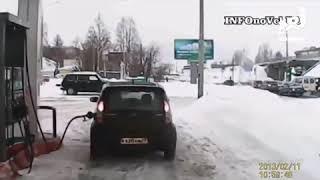 Приколы с автомобилистами