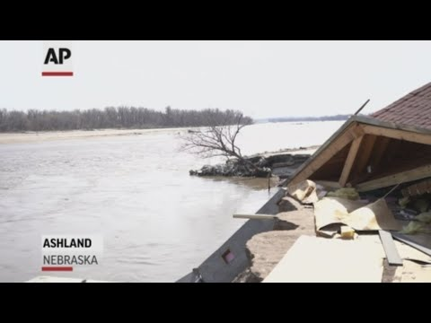 Residents in Nebraska are beginning to clean up as floodwaters recede across the Midwest. A flooded water treatment plant at a Superfund site that stores radioactive waste and explosives was temporarily shut down, but is back up and running. (March 28)