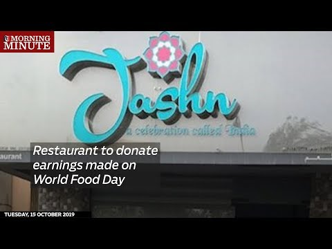 Restaurant to donate earnings made on World Food Day