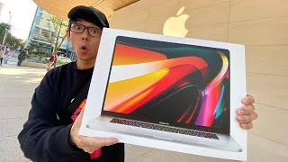 噴了12萬換筆電! 最新的16吋Macbook Pro值不值這個價錢?【阿滴日常】