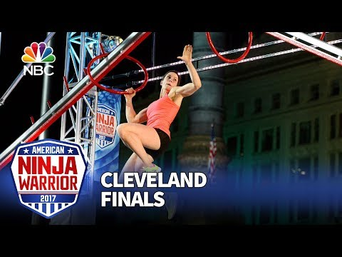 Jesse Labreck at the Cleveland City Finals - American Ninja Warrior 2017