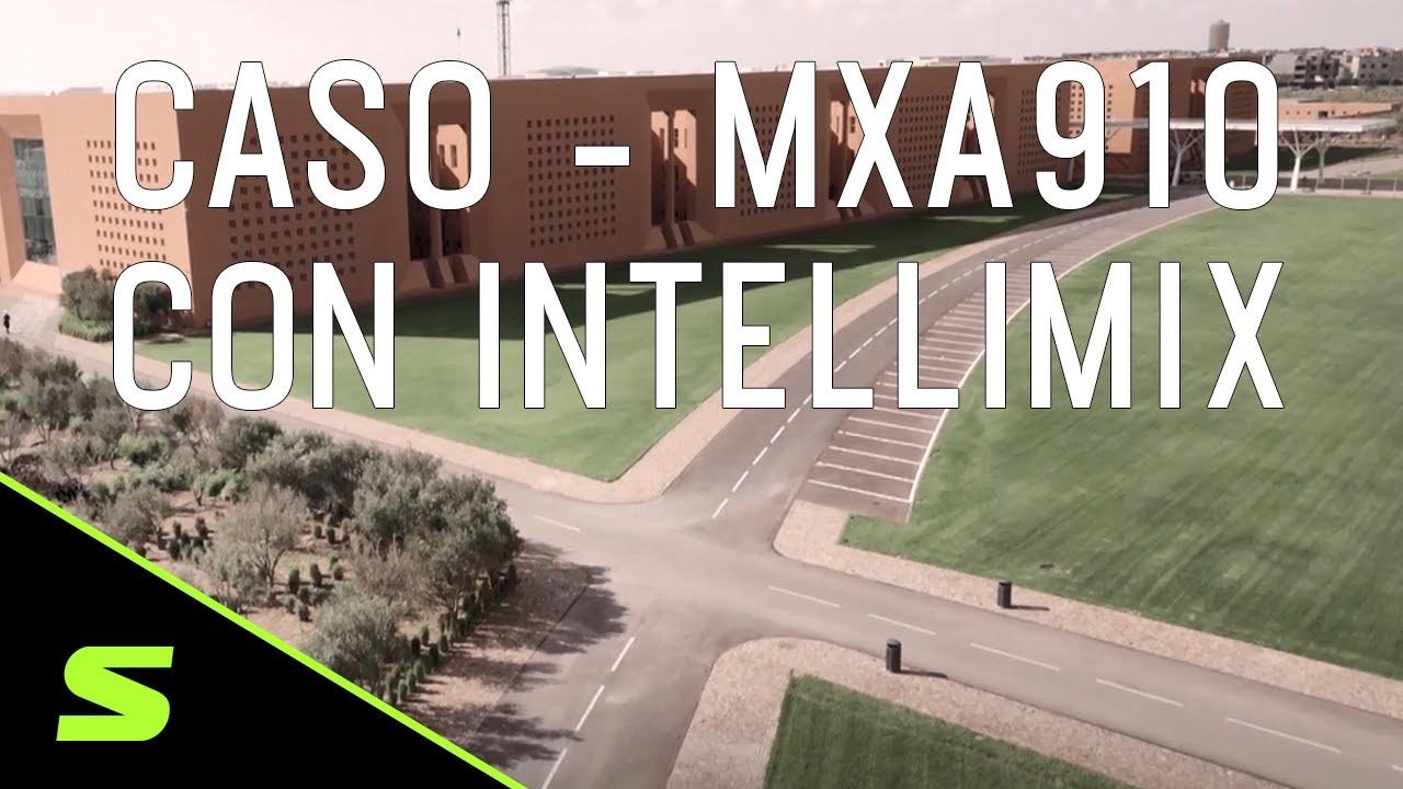 Caso de éxito del MXA910 con IntelliMix en la Mohammed VI Polytechnic University de Marruecos