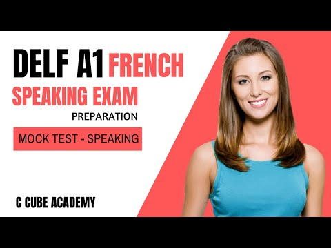 French DELF A1 Exam Speaking Practice | DELF A1 Production ...