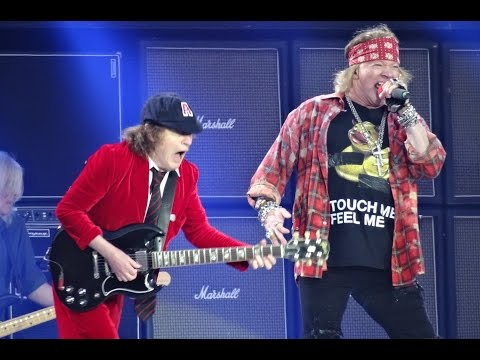 AC/DC And Axl Rose - BACK IN BLACK HD - Ceres Park, Aarhus, Denmark, June 12, 2016 - BD Calhoun